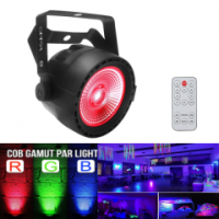 Led Par BIG COB 40W RGB REMOTE